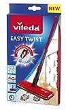 Vileda Easy Twist Ersatzbezug Bodenwischbezug, Stoff, Rot, 13 x 2 cm