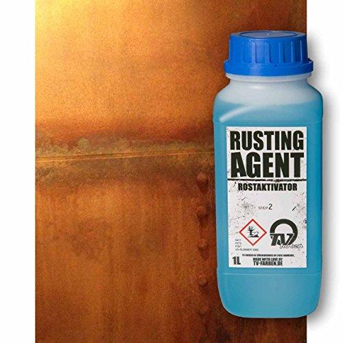Ruggine Attivatore effetto vernice 1L, Anti-Ossidante per colore ruggine, Ruggine Attivatore - Anti Ruggine Vernice