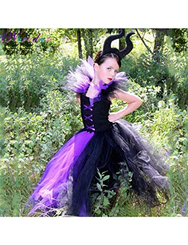Kostüm 90's Jungs - GBYAY 2019 Königin Mädchen Tutu Kleid Halloween Hexe Kostüm Für Mädchen Prinzessin Kinder Party Kleid Kinder Kleidung