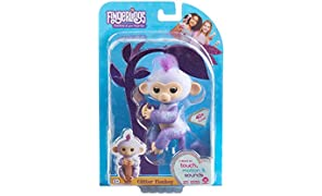 Roblox Celebrity WowWee Fingerlings, scimmietta Giocattolo Purple