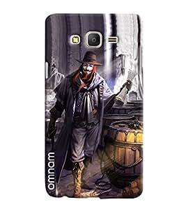 Omnam Magician Joker Printed Designer Back Cover Case For Samsung Galaxy On 7