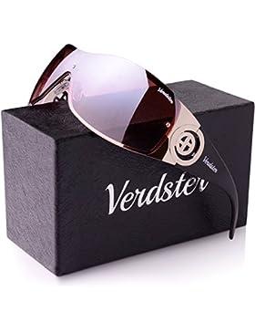 Gafas De Sol Gran Tamaño VERDSTER Para Mujeres– Aptos para Conducir – Montura Envolvente Cómoda con Protección...