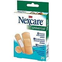 Nexcare Tiras Protectoras Impermeables de Plástico - Paquete de 20 Tiras
