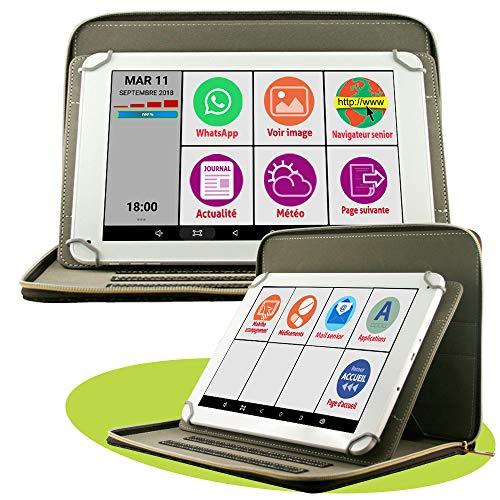 Mobiho Essentiel - La tablette INITIALE 10P avec pochette luxe, l'essentiel pour bien débuter avec...