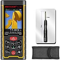 Medidor de distancia láser NK-S80 NK-S120 de NKTECH, 80 m y 120 m con herramienta de cámara, cinta de medición en en m, in, ft, recargable con USB, almacenamiento de 100 datos