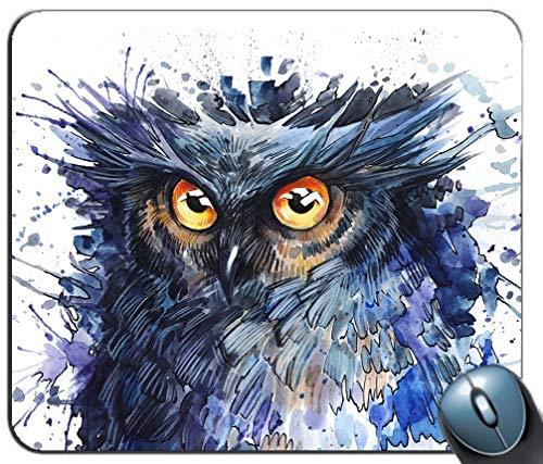 Mausunterlage Owl Art Pattern Mausunterlage Gaming MousePad MouseMat für PC