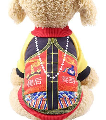 GOUSHENG-Costumes Haustiere Kleidung Kleider Warme Hundekleidung Klassische Haustier Hundekleidung Für Kleine Hunde Mantel Kostüm Herbst Welpenbekleidung Yorkie Chihuahua Mantel Jacke, 11, XXL (Hunde Elf Kostüm Xxl)