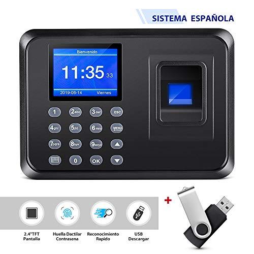 Máquina de Asistencia Biométrica de Huella Dactilar