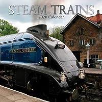 Steam Trains: 2020 Square Wall Calendar