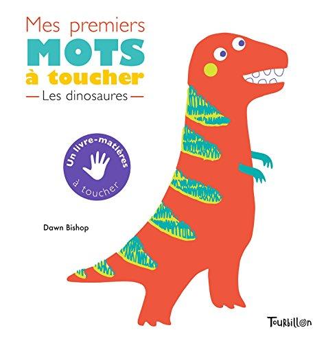 Mes premiers mots à toucher - Dinosaures