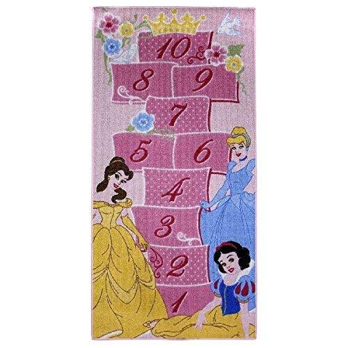 Associated Weavers Spielteppich Princess Spiel 80 x 160 (Prinzessin-spiel-teppich Disney)