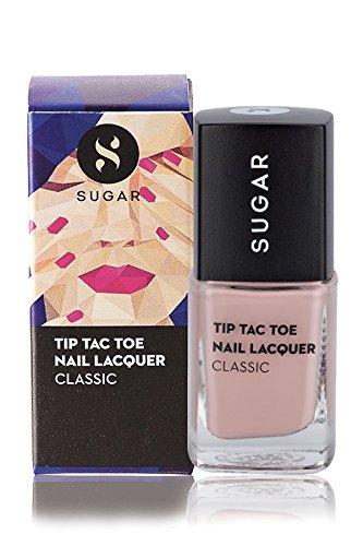 SUGAR Tip Tac Toe Nail Lacquer, 003 Burn Your Beiges (Beige)