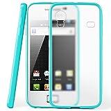 moex Samsung Galaxy Ace | Hülle Slim Transparent Türkis Impact Back-Cover Dünn Schutzhülle Silikon Handy-Hülle für Samsung Galaxy Ace Case TPU Tasche Matt