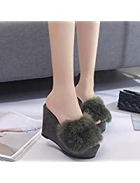 SEX Ciabatte da donna Flip Flops Pelliccia di peluche per scarpe autunno   inverno  Scarpe da 02252df662a