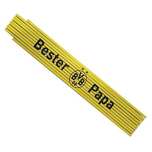 Preisvergleich Produktbild Borussia Dortmund Zollstock / Gliedermaßstab / Schmiege Bester Papa BVB 09