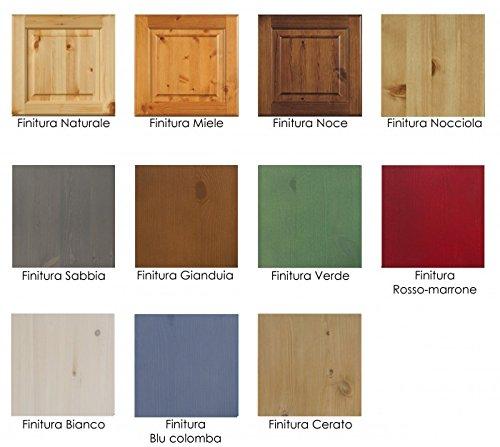 Tavolo fratino allungabile-Colore Noce: Amazon.it: Casa e cucina