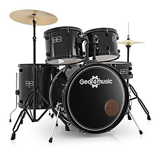 Bdk-1 batteria full size per principianti di gear4music nera