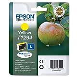 Epson Tintenpatrone Yellow T1294DURABrite Ultra Ink–Tintenpatrone für Drucker (gelb,–Epson Stylus Office B42WD–Epson Stylus Office BX305F–EPSON STYLUS OFFICE BX305FW)