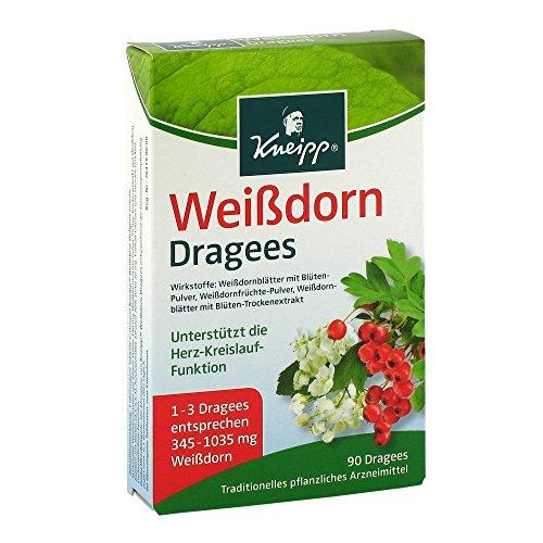 Kneipp Weißdorn Dragees, 2er Pack (2 x 90 g)
