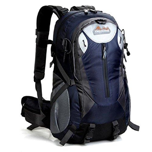 Z&N Backpack 25-30L Hochwertige Wasserdichte Nylon Outdoor Bergsteigen Tasche Unisex Sport Wanderung Urlaub Picknick Party Tasche Verstellbare Gurt Anti-Riss Rucksack Daypacks F