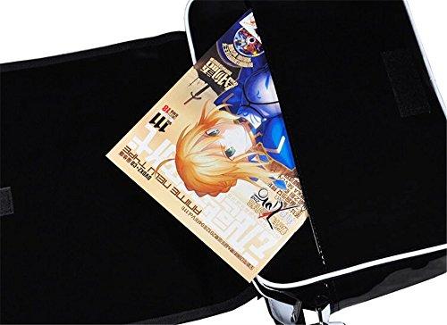 Siawasey anime giapponese Cartoon Cosplay messenger bag zaino borsa a tracolla (31modelli) nero Gintama Anohana1