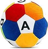 #7: Babies hub Soft Football Toys Stuffed Soft Toy Plush Ball Kids Birthday (A B C D)