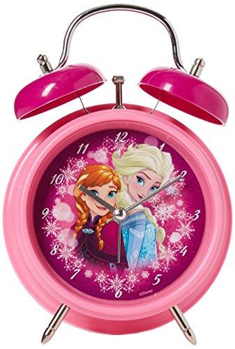 Unbekannt BETA Service EL51052 - Frozen Wecker Anna und ELSA, rosa