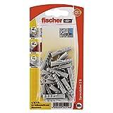 Fischer Spreizdübel S 6 GK SB-Karte, Inhalt: 30 x Dübel, 052116