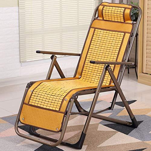 SEEKSUNG Fauteuil Relax,Loisirs Portable à Bascule en arrière, Chaise Siesta Maison Multi-Fonctions, utilisable en extérieur, Salon, Jardin (Couleur: A) -B