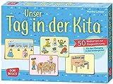 Unser Tag in der Kita: 50 Bildkarten zur Eingewöhnung. Für den Übergang in den Kindergarten (Kleine Helfer im Kita-Alltag)