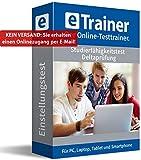 Studierfähigkeitstest / Deltaprüfung 2019: eTrainer – Der Online-Testtrainer | Über 1.800 Aufgaben mit Lösungen: Allgemeinwissen, Sprache, Mathe, Logik, Konzentration und mehr | Eignungstest üben