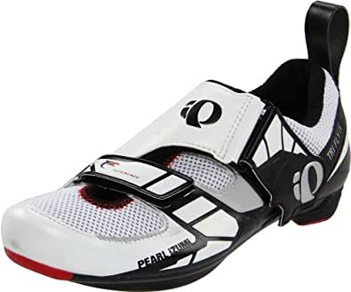 Pearl Izumi Shoes Men's Tri Fly IV, Black / White, Size 44.0