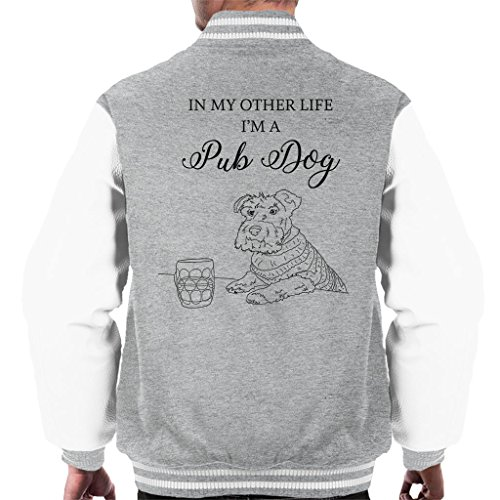 Great British Pub Dogs in My Other Life Im A Pub Dog Men's Varsity Jacket