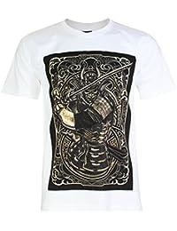 PALLAS Unisex's Japan Samurai Warrior Cotton T-Shirt