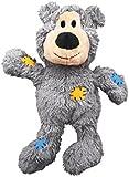 KONG Wild Knots Bear Dog Toy, Medium/Large Colours Vary