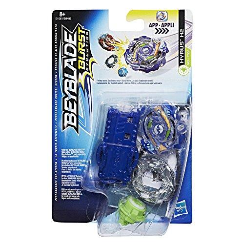 Hasbro Beyblade Burst E1061ES0 Starter Pack S2 Hyrus H2, Kreisel