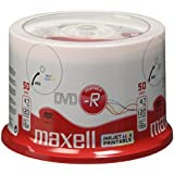 Maxell - 50 x DVD-R - 4.7 GB (120min) 16x - white - printable surface - spindle - storage media