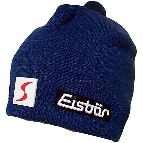 Eisbar Adam MU SP Skipool Austrian lana Merino-Cappello da sci,