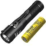 3100 mAh 35 A Akku: 2017 Nitecore C1 1800 Lumen CREE XHP35 HD E2 LED Taschenlampe + IMR 18650 wiederaufladbarer Akku, magnetischer Rückdeckel Concept 1 EDDC Taschenlampe