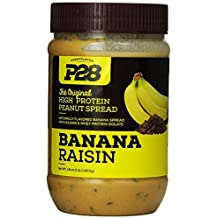 P28 Foods Formulated High Protein Spread, Banana Raisin, 16 Ounce by P28 Foods