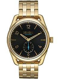 Nixon Unisex-Armbanduhr C39 SS Analog Quarz Edelstahl A950 - 510-00
