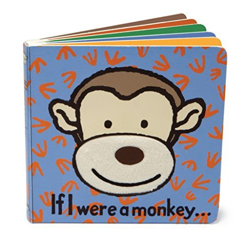 If I Were a Monkey Board Book - Hauteur 15 cm