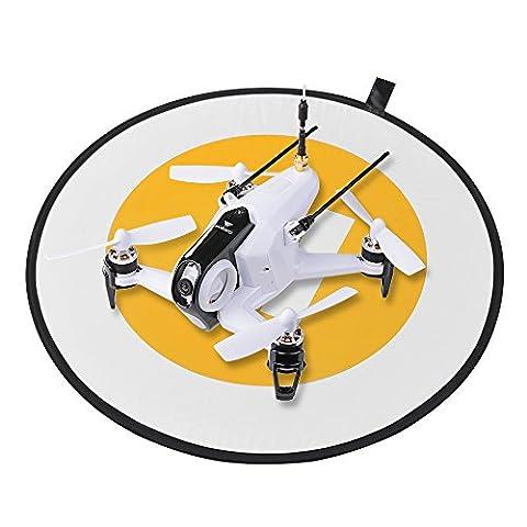 XCSOURCE Tablier de Protection d'Atterrissage d'Héliport Pliable pour DJI Phantom 3/4 Inspire 1 Mavic Pro Drone