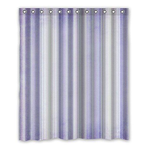 """152 cm x183 cm (60 """"x72"""") Bagno Doccia Tenda, morbido viola non irritante tenda di acquazzone impermeabile Odore personalizzato"""