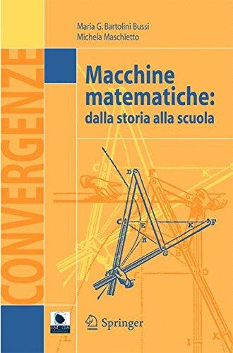 Macchine matematiche: dalla storia alla scuola