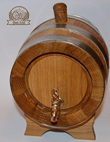 Messing Oak Barrel (Eichenfass, Holzfass, mehrere Größen, holz, 1L)