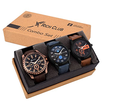 Rich-Club-Analogue-Black-Blue-Dial-Mens-Watch-REL-OCT-DENIM
