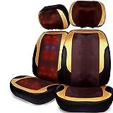 Masajeador cervical cintura cuello hombro masajeador almohada cuerpo Multifunción hogar asiento eléctrico almohada almohada, masajeador shiatsu, masajeador cuello masajeador,Sillon de masag,A