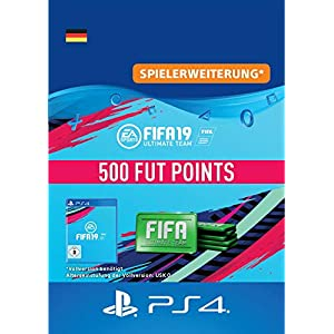 FIFA 19 Ultimate Team – 500 FIFA Points | PS4 Download Code – deutsches Konto