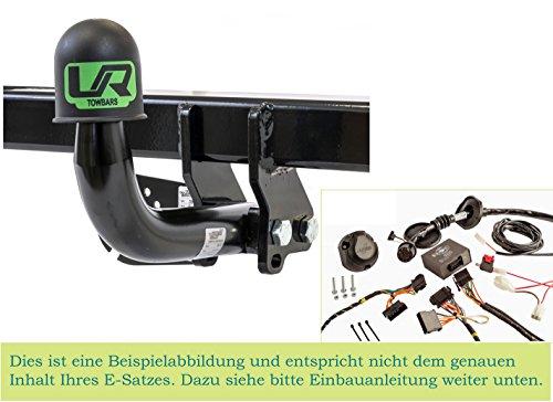 UmbraRimorchi Dacia SANDERO STEPWAY Fliessheck 5Türer 2008-2012 Feste Starr Anhängerkupplung mit 13p Spezif ESatz UT080COR01ZFM/WS21620501DE2